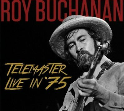 Roy Buchanan - Telemaster Live In '75 [New CD] • 7.35£