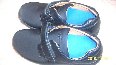 2a4eb0ddf11c Mens Dr. Comfort Shoes 10XW With Hook Loop Strap Great Shape Black Soft  Faux Lea