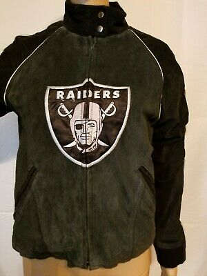 online store 9eddb 8d62b oakland raiders leather jacket