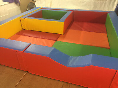 £1495 • Buy SOFT PLAY  Boundary + Removable Ball Pond   And Mats