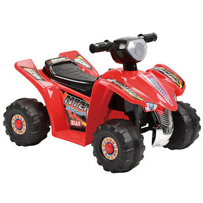 AU87 • Buy Indoor/Outdoor Red Electric Quad Bike Ride On/Motorbike/Kids/Toddler/6V Battery