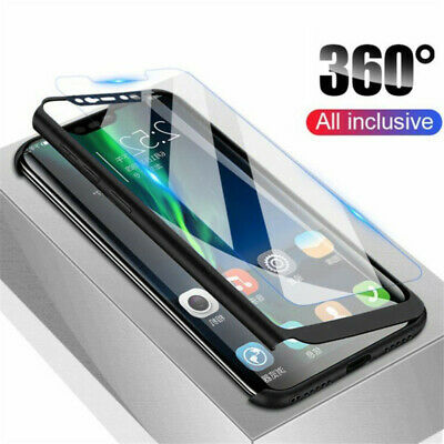 $3.29 • Buy For Xiaomi Redmi Note 8T 8 Pro 360° Full Protection Cover Case + Tempered Glass