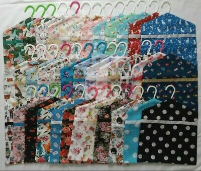 New Handmade Hanging Peg Bag/Peg Holder Various Design Polycotton • 3.99£