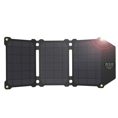 £76.70 • Buy Solar Panel Cells Dual USB Charger Batteries 21W IPhone 4 5 6 6s 7 8 X Plus IPad