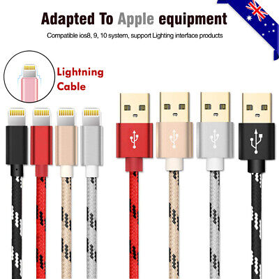 AU4.99 • Buy 0.2/1/2m Data Sync 2A Fast Charger USB Cable IPhone 12 7+ 6 6S 5 SE X XS MAX XR