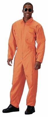 $57.99 • Buy  ROTHCO 7415 ORANGE Style Flight Suit Coveralls Air Force Jump Suit Overalls