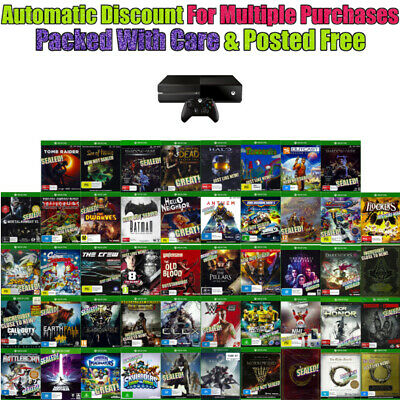 AU22 • Buy 💚 XBOX ONE 🔹 ASSORTED GAME TITLES 🔹 MOST BRAND NEW Your Choice 19/01/20