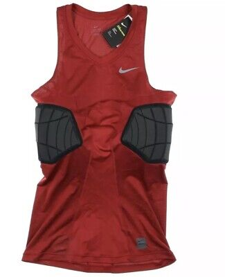 c9dc5a28 Nike Pro Combat Hyperstrong Basketball Padded Compression Shirt Red Size XL  Tall • 25.00$