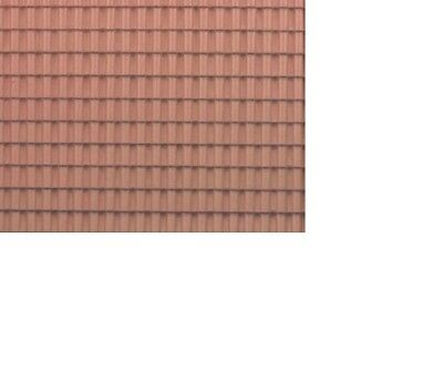 £5.04 • Buy Dollhouse Miniatures 1:12 Scale Pvc Adobe Tile Roof, 10-3/4 X 16-3/4 #MH5330