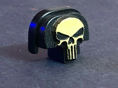 $27.50 • Buy Fit Rear Slide Cover Plate Smith Wesson & M&P 9mm .357, .40,  -3D- Gold-Punisher