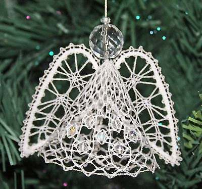 Angel Christmas Torchon Bobbin Lace Pattern Lacemaking *PATTERN ONLY* • 1.90£