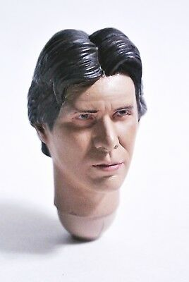 $ CDN61.17 • Buy 1/6 Scale CUSTOM PAINTED Star Wars Bespin Han Solo Head Sculpt For 12in Hot Toys