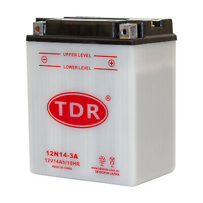 AU65.70 • Buy For YTX14AHL-BS YB14L-A2 12N14-3A Motorcycle Battery Suzuki GR650 Tempte GS650