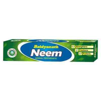 Baidyanath Neem Toothpaste For Strong Teeth And Gums 100gm (pack Of 2) • 9£