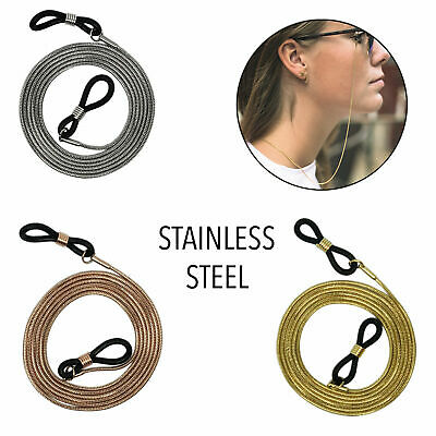 AU1.69 • Buy Unisex Eye Glasses Sunglasses Spectacles Eyewear Chain Cord Metal Holder Strap