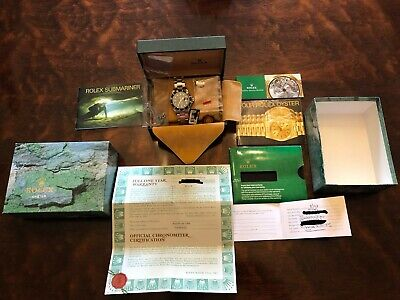 $ CDN23746.05 • Buy RARE 1998!! Rolex Submariner Date 16610 Steel U Serial 40mm Tags, Box & Papers