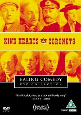 Kind Hearts And Coronets (1949) Ealing Comedy, Alec Guinness, DVD • 7.99£