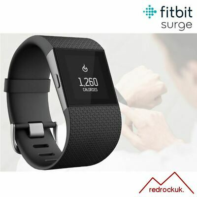 View Details Fitbit Surge GPS Fitness Activity Tracker With Integrated HRM - Black - Small • 49.95£