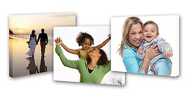 Personalised Photo Canvas Print Picture Image To Large A1 30  X 20  • 16£