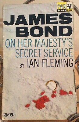 Ian Fleming James Bond 'On Her Majesty's Secret Service' 1965 Pan - 4th Edition • 5£