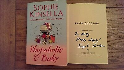 Shopaholic And Baby SIGNED Sophie Kinsella Hardback Book 2007 1st Edition • 19.99£