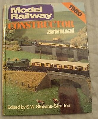 Model Railway Constructor Annual: 1980 Hardback Train Book • 6£