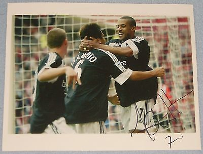 Steve Marlet Signed Photo (Fulham, France) • 12.99£