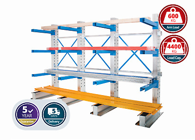 £1244.77 • Buy Anco Adjustable Single Sided Cantilever Racking Heavy Pipes/ Tubes Storage