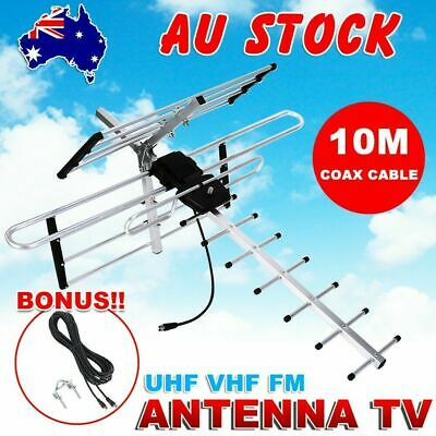 AU30.95 • Buy Digital Outdoor TV Antenna UHF VHF FM 4 AUSTRALIAN Conditions Country Areas New