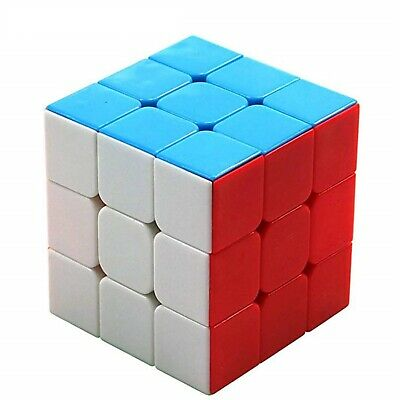 $8.99 • Buy Speed Rubix Cube Smooth Magic Puzzle Rubic Stickerless 3x3 Rubiks Gift Toy Play