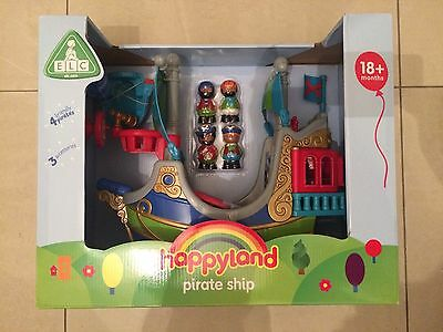 £41.99 • Buy ELC Early Learning Centre HappyLand Pirate Ship - New