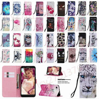$ CDN8.70 • Buy For Samsung Galaxy S7 S7 EDGE S8 S9 + NOTE 9 Holder Flip Leather Case Cover