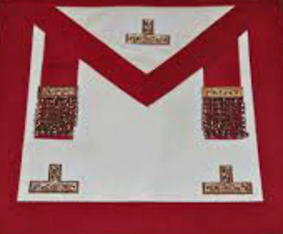 Masonic Craft Provincial Stewards Apron With Past Master • 29.50£