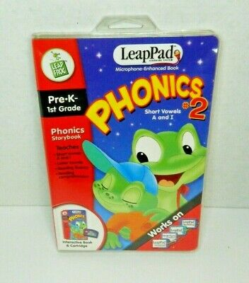 £5.74 • Buy Leap Frog Microphone Pre K-1st Grade, Phonics#2, Brand New And Sealed