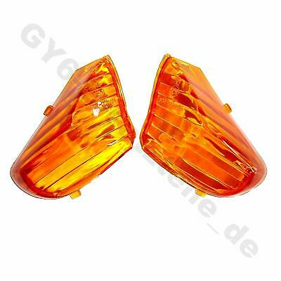 AU6.33 • Buy Turn Signal Lens Cover Tail Light Orange Gy6 Chinese Scooter Znen Sunny Vip Sunl