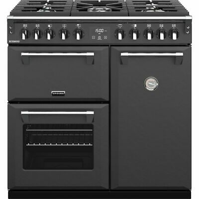 £1338 • Buy Stoves Richmond S900DF 90cm 5 Burners A/A/A Dual Fuel Range Cooker Anthracite