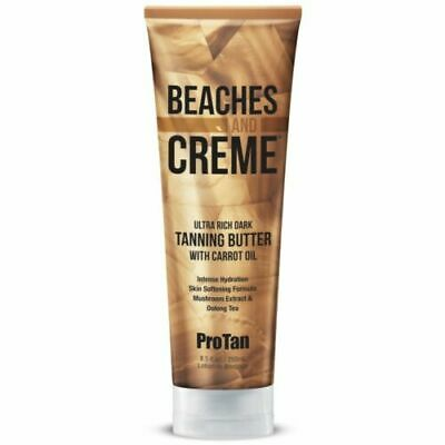 Pro Tan Beaches & Creme Dark Sunbed Tanning Butter + Carrot Oil Lotion Creme  • 15£
