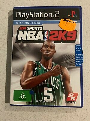 AU5 • Buy NBA 2K9 Sony PlayStation 2 Console Game PAL PS2