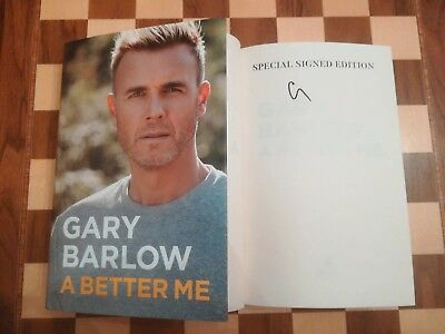 Gary Barlow SPECIAL SIGNED A Better Me Autobiography 1st Edition 1st Impression • 19.99£