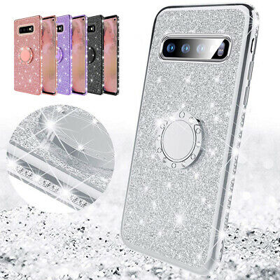 AU5.16 • Buy Bling Case 360° Stand Glitter Phone Cover For Samsung Galaxy A60 J4 Plus M30 M20