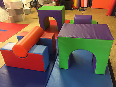 £795 • Buy Activity Mat Set With Tunnels, Humps And Obstacles On 4 X 5ft X 3ft  Mats