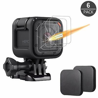 $ CDN12.58 • Buy [6 Pack] Tempered Glass Screen Protector For Gopro Hero 4 Session Hero 5 Session