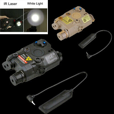£30.60 • Buy LA PEQ15 Red Laser IR Laser White Light Upgrade Version For Tactical Airsoft
