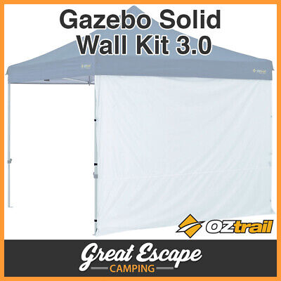 AU42.90 • Buy Otrail Gazebo Wall - 3m Gazebo Side Wall Oztrail Solid White Deluxe Gazebo Wall