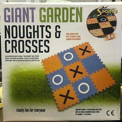£7.95 • Buy Giant Noughts And Crosses Indoors & Outdoors Eva Foam Toy Party Garden Game