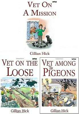 £15.99 • Buy Gillian Hick Vet Series 3 Books Collection Set - Vet On The Loose And More
