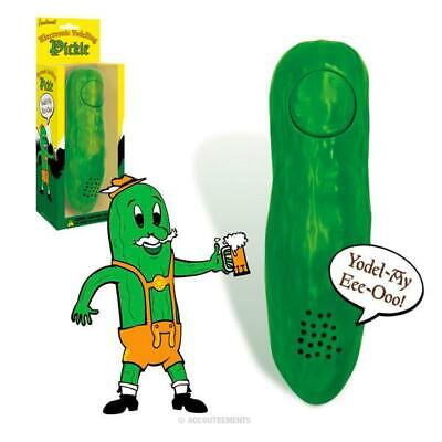 $13.95 • Buy YODELLING PICKLE  5-1/4  Electronic Gag Gift Party Favor Archie McPhee