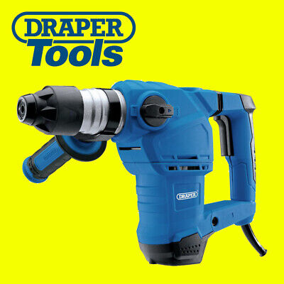 Draper  Storm Force SDS+ Rotary Hammer Drill Kit With Rotation Stop (1500W) • 74.95£