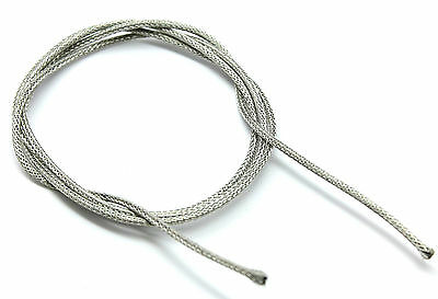 £2.49 • Buy Braided Shielded Waxed Vintage Cloth Covered Wire, 22 Gauge/AWG, Per Metre
