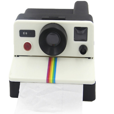 AU22.99 • Buy Camera Toilet Paper Towel Roll Tissue Holder Dispenser Cover Wall Mount Bathroom